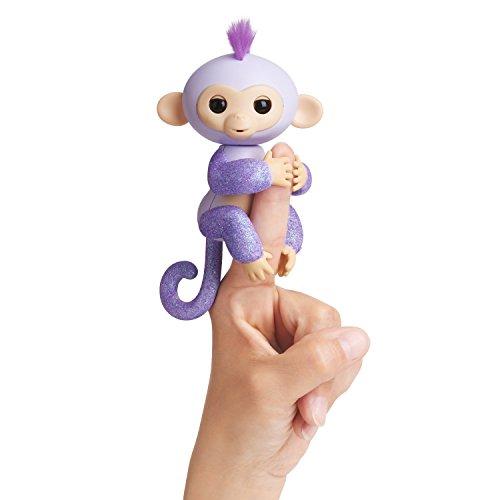 Purple Glitter Fingerling