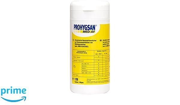 Coolike Prohygsan Toallitas de Desinfección - 120 Unidades: Amazon.es: Belleza
