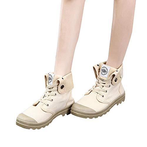 Con Stivali Stivaletti Stile Sportiva Alta Alto Scarpa Tacco Da Stivaletto Palladio boots Cachi Donna Stringatestivaletti Donna Scarpe Moda 7Zn7rfp