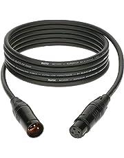 KLOTZ M2 high-end microfoonkabel, zwart, XLR vrouwelijke XLR male van KLOTZ (3m)