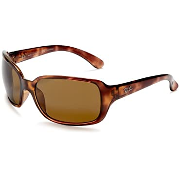 Ray-Ban RB4068 Havana Sunglasses with Crystal Brown Polarized 60mm Lens