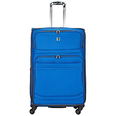 Delsey Luggage D-Lite Softside 29-Inch Lightweight Expandable Spinner (One Size, Blue)