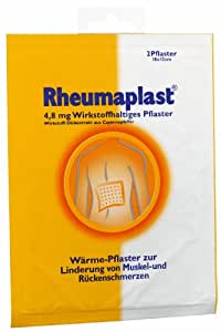 Amazon Com Rheumaplast Back Pain Relief Patches Pad By
