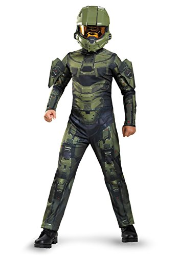 Master Costumes Kids Chief (Master Chief Classic Costume, X-Large)