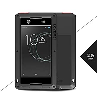 sale retailer 760af b49b8 Love MEI Compatible for Sony Xperia XA1 Ultra Case,Full Body Military  Rugged Aluminum Protective Metal Resistant Shockproof Bumper Heavy Duty  Cover ...