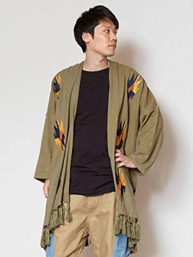 【チャイハネ】イーグルMEN'Sフリンジカーディガン IDS-9107
