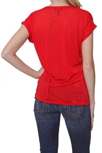 AJ - Giorgio Armani Jeans Sleeveless T-Shirt HEART, Color: Red, Size: 44
