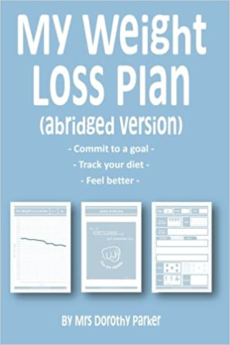 My Weight Loss Plan Abridged Version Track Your 2 Weeks Diet