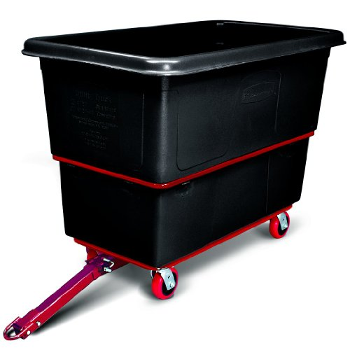 Rubbermaid Commercial Products Heavy-Duty Towable Utility Truck, 27 Cu. Ft, ()