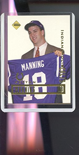 1998 Collector's Edge Peyton Manning Promo Colts RC ROOKIE Card Collectors Edge - 1998 Peyton Manning Edge