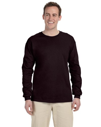 Chocolate Dark Adult (Gildan Adult L/S T-Shirt in Dark Chocolate - XXX-Large)