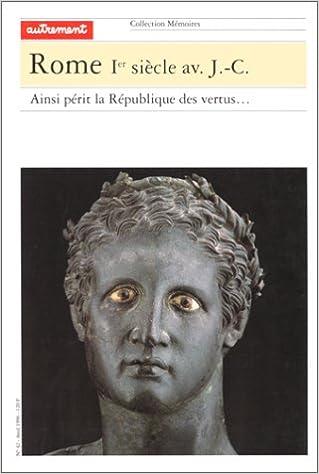 En ligne téléchargement Rome, Ier siècle av. J.-C. pdf, epub