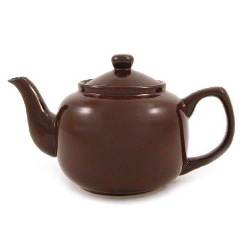 Amsterdam 6 Cup Teapot - Brown