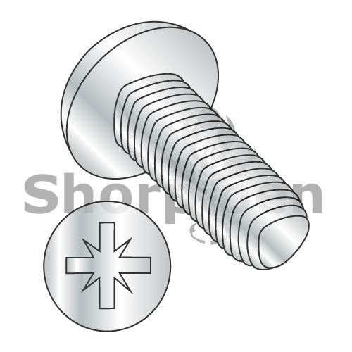 SHORPIOEN Din 7500 C Metric Type Z Pan Thread Rolling Screw Zinc Bake and Wax M6-1.0 x 12 BC-M612D7500C (Box of 500)