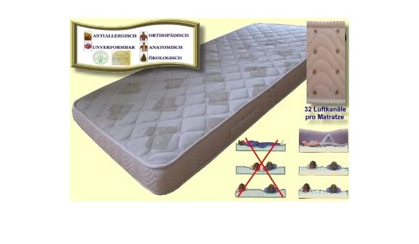 Matratzen Water-Cell Las Personas obesas de Allergies-matelas de Espuma fría - 140 x 210 cm: Amazon.es: Hogar