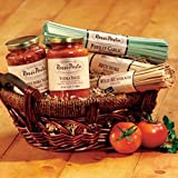 Rustica Pasta Gift Basket with Artichoke and Vodka Sauce