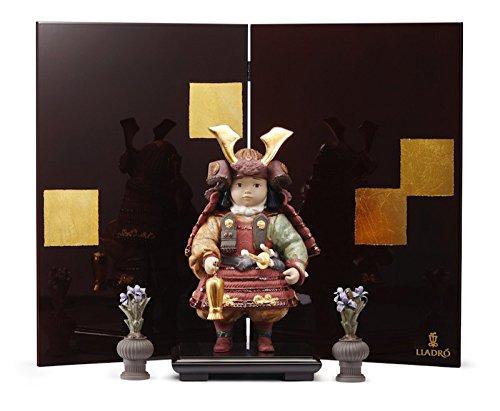 リヤドロ 五月人形 子供大将飾り 武者人形 Lladro 磁器人形 若武者60周年記念モデル フルセット 限定3500体 h315-01013045-fs B00VFGUM60