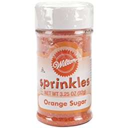 Wilton Orange Sugar Sparkles