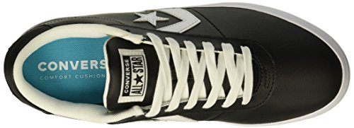 black Lifestyle Fitness Point Mixte white black De Star Chaussures Leather Adulte Converse Noir Ox 001 q07ZnHd