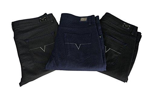 c0a2caa8789b V1969 - Pantalon Homme avec sa Pochette Cadeau, Jeans Versace 19.69  Abbigliamento Sportivo SRL Milano Italia - Noir - 31  Amazon.fr  Vêtements  et ...