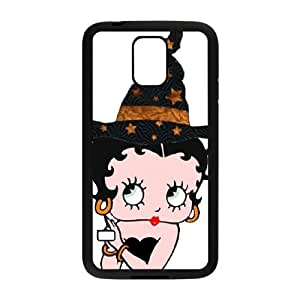 Betty Boop Samsung Galaxy S5 Cell Phone Case Black present pp001_9609155