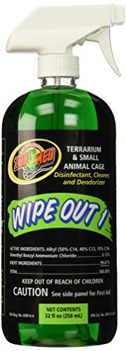 Zoo Med Wipe Out 1 Disinfectant, 32 oz