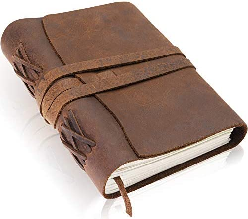 Handmade Leather Journal Scriveiner London product image