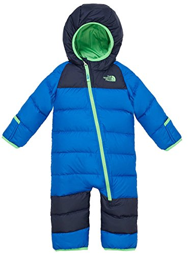 The North Face Kids Unisex Lil' Snuggler Down Bunting (Infant) Monster Blue Baby One Piece 3-6 Months