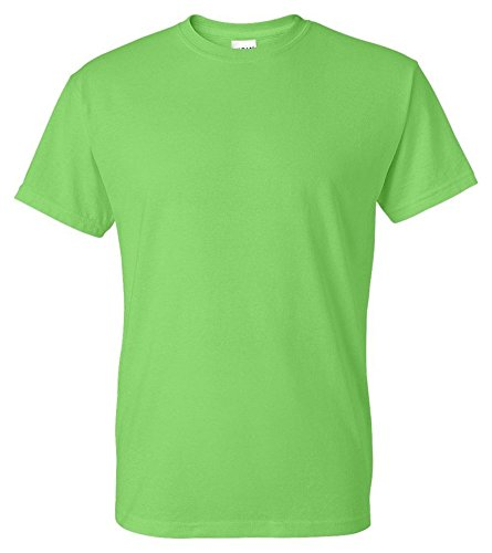 Gildan Men's Wicks Moisture Short Sleeve T-Shirt, Kiwi, XX-Large