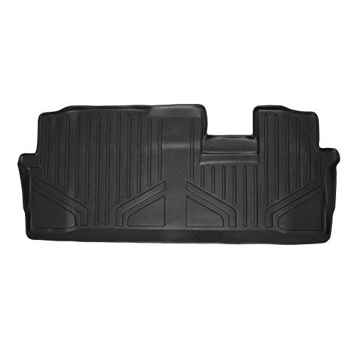 (SMARTLINER Floor Mats 3rd Row Liner Black for 2009-2015 Honda Pilot)