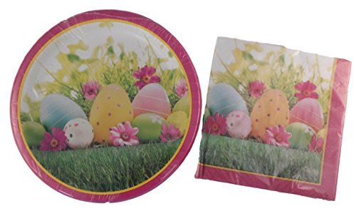 Pink Rabbit Plate - 9