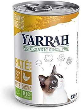 Yarrah Gato Latas Pate Con Pollo Caja 12X400Gr. Bio 1 Unidad 4800 ...