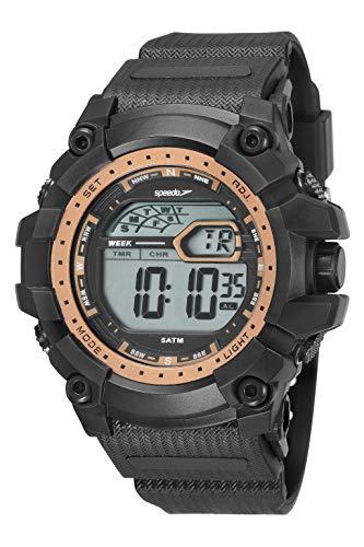KIT Relógio Digital Speedo, 11004G0EVNP3K1, Masculino