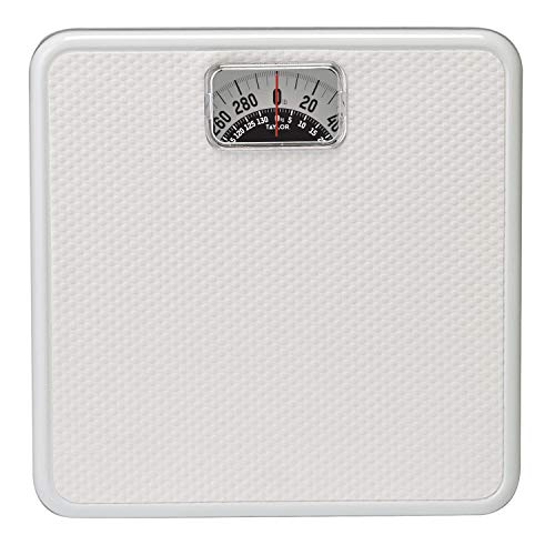 Taylor Precision Products Mechanical Rotating Dial Scale (White) ()