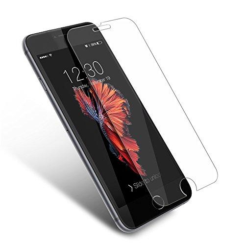 Coolreall Ultra-klar Panzerglas Schutzfolie für iPhone 6 6S 4,7 Zoll 3D Touch Kompatibel (0,33mm)