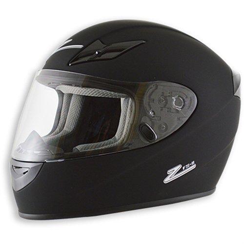 Zamp FS-8 Snell M2015 / DOT Helmet Matte Black Large