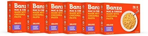 Mac & Cheese: Banza Deluxe