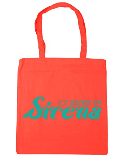 Shopping Coral Tote Gym 42cm mermaid x38cm 10 litres HippoWarehouse Beach a really I'm Bag wqRBIIHXxO