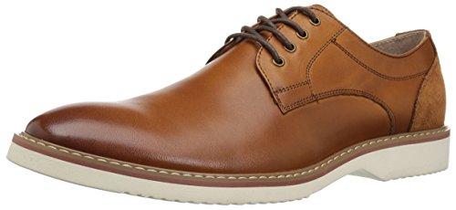 Florsheim Men's Unify Plain Toe Oxford, Cognac, 10 D US (Florsheim Montinaro Mens Leather Cap Toe Oxfords)