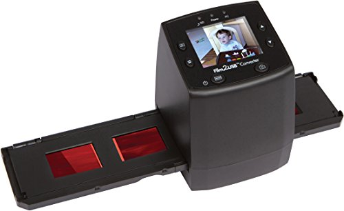 ClearClick Film to USB Converter 35mm Slide and Negative Scanner with 2.3
