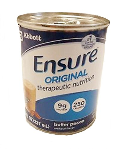 Ensure Original Therapeutic Nutrition Shake, Butter Pecan, 8-fl-oz (237-mL) Cans 1/Case of 24 (Formerly Ensure Immune Health)
