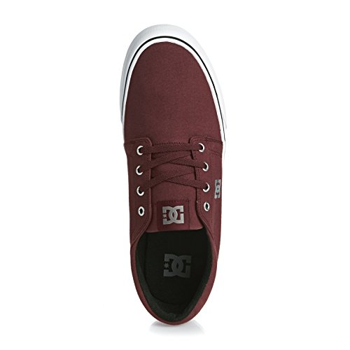 DC Trase TX M Shoe BKW, Low-Top Sneaker Uomo ox blood