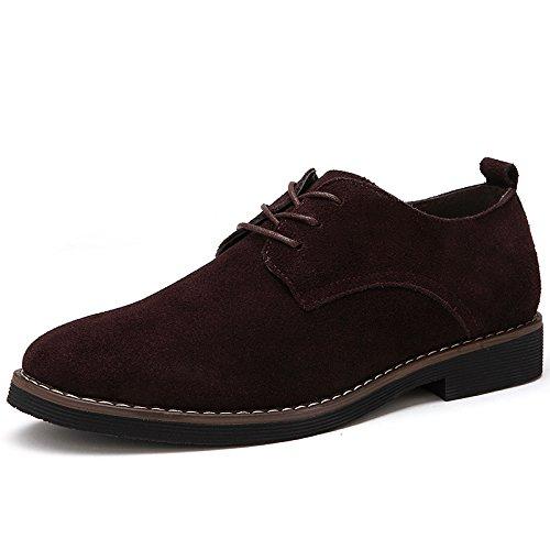 AIMENGA Schuhe der Business-Beiläufigen Schuhe der Herbstmänner, Die Die Die Schuhe Beschuhen, Wickeln Pu-Lederne Große Größengeschäfts-Art und Weiseschuhe Ab 9f7daa