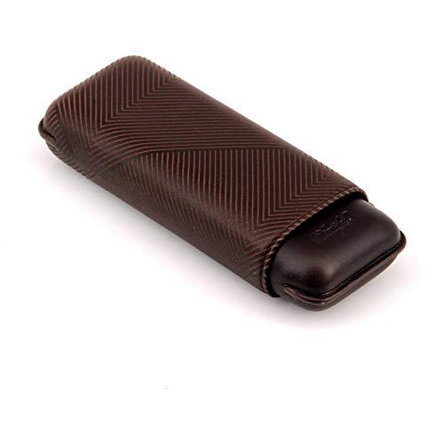 Davidoff XL - 2 Cigar Case Leaf Design Brown by Davidoff (Image #1)