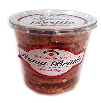 Brittle-Brittle Gourmet Peanut Brittle 42oz (Old Fashioned Peanut Brittle)