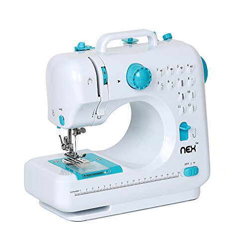 Sewing Machine Portable Crafting Mending Machine with 12 Built-in Stitches Double Thread and Speed for Beginner by LIANTRAL