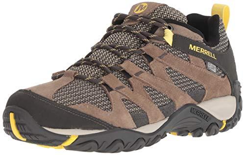(Merrell Women's ALVERSTONE Waterproof Hiking Shoe, Brindle, 09.0 M US )