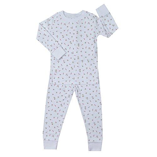 Kissy Kissy Baby Girls' Pajamas Year Round Print - Garden Roses-18-24mos