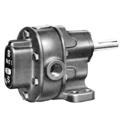 (BSM PUMP B-Series 117-713-3-1 Iron 3 Rotary Gear Pump without Relief Valve, 17.1 GPM)