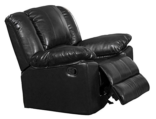 Milton Greens Stars Burgas Rocking Recliner Chair, 39 by 38 by 40-Inch, Black (Green Motion Recliner Chair)